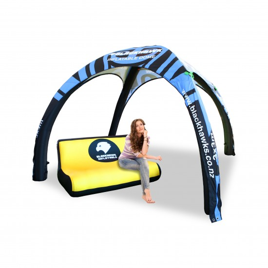 Inflatable Chair - Double with Full Custom Printing