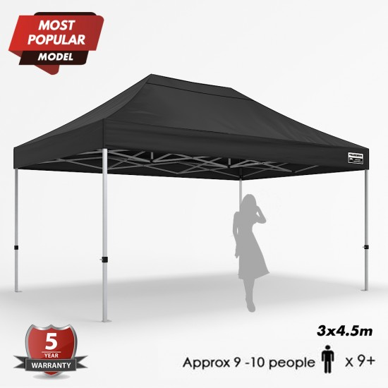 Pre-order 3x4.5m Max Plus Alloy - Basic Package (Arrive Mid of August)