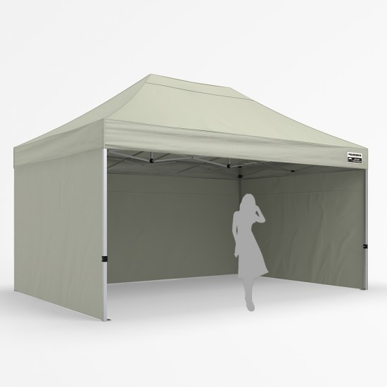 3x4.5m Pro Alloy - Three Wall Package