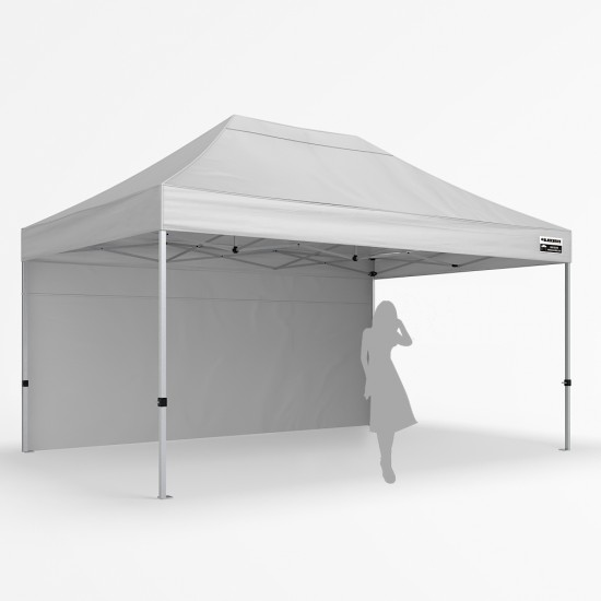 4x6m Pro Plus Alloy - Back Wall Package