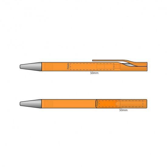 Printed Aries Solid Pen
