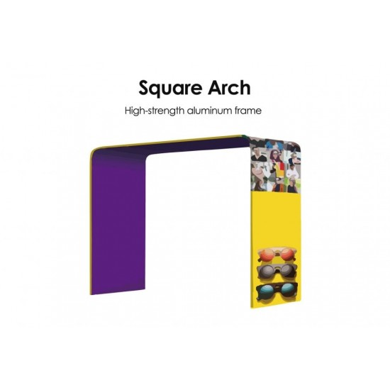 Square Arch Double Print