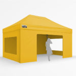 3x4.5m - yellow with 3 window walls and door